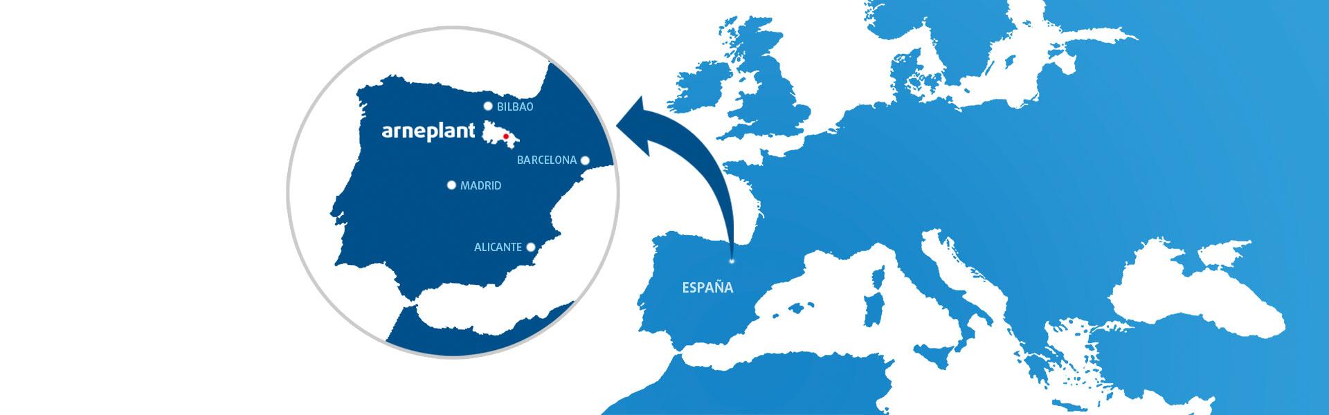 Arneplant fabricante de plantillas España